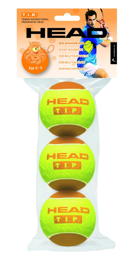 HEAD T.I.P. Orange 3 ks
