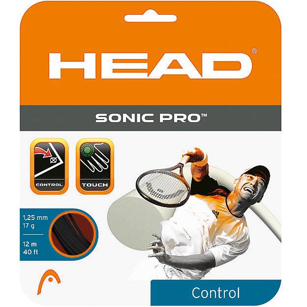 HEAD Sonic Pro 12m 1,25 Black