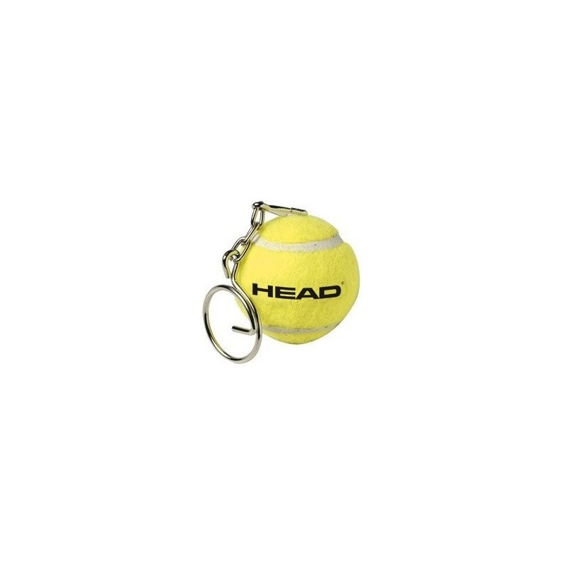 HEAD klíčenka Mini Tennis Ball Keychain, yellow