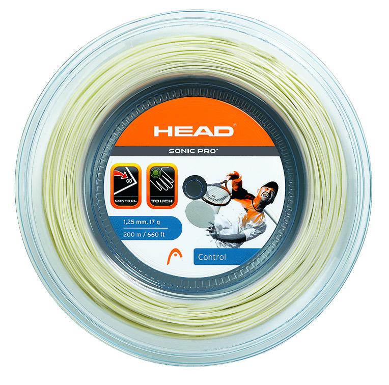 HEAD Sonic Pro 200m 1,25 White