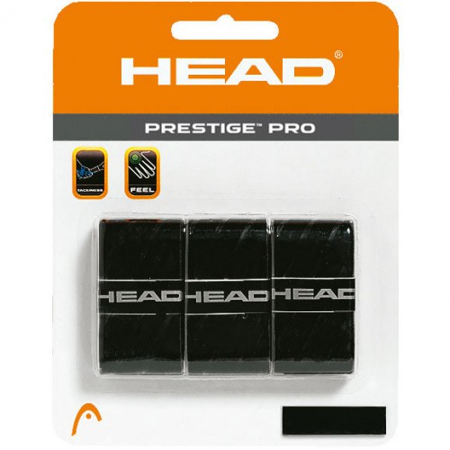 HEAD Prestige Pro Overwrap Black