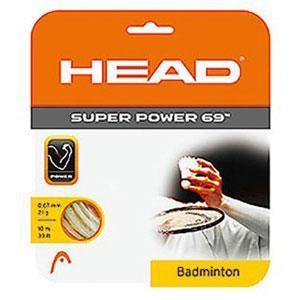 HEAD Super Power 10m 0,69 Natural