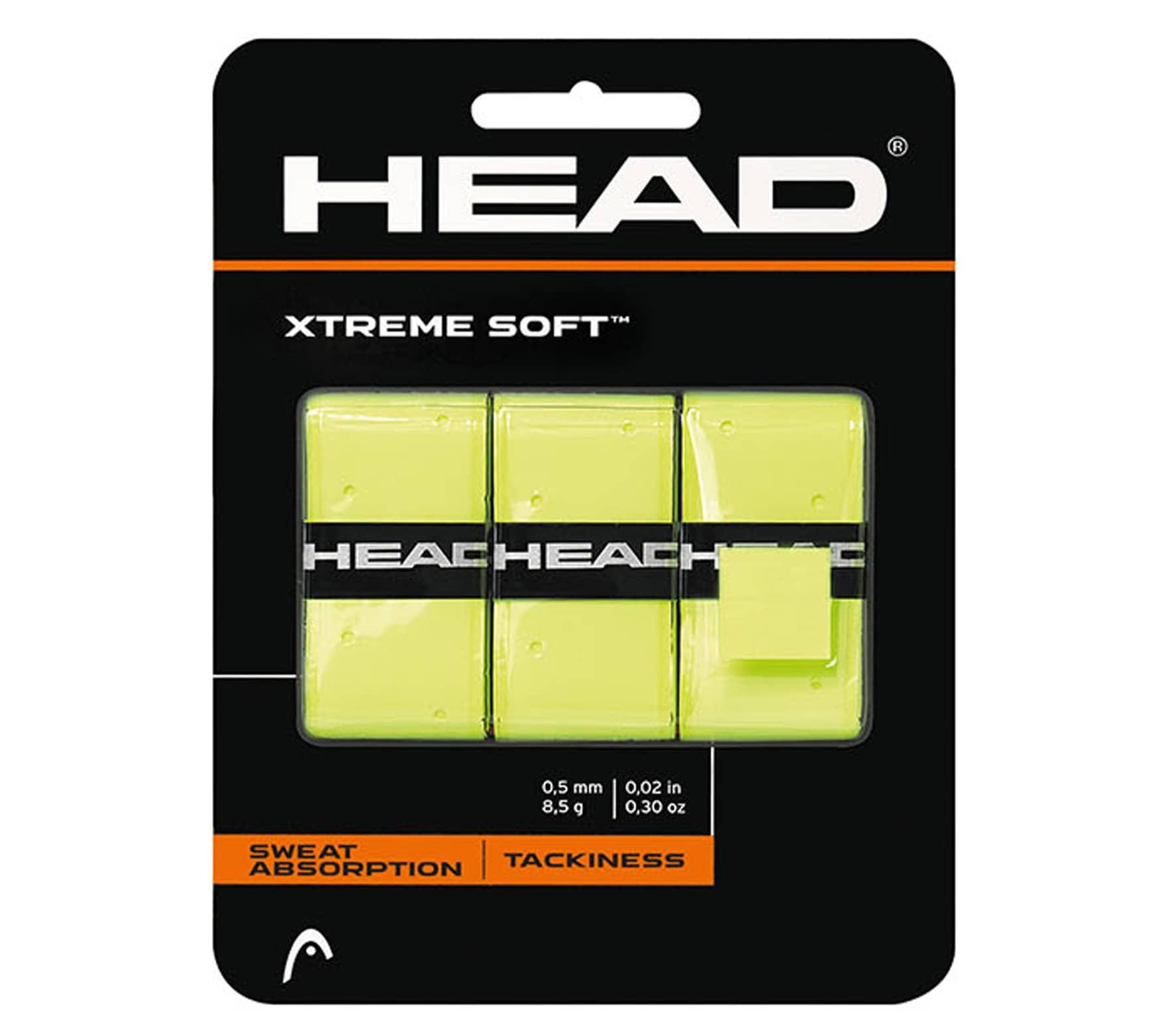 HEAD XtremeSoft Yellow X3