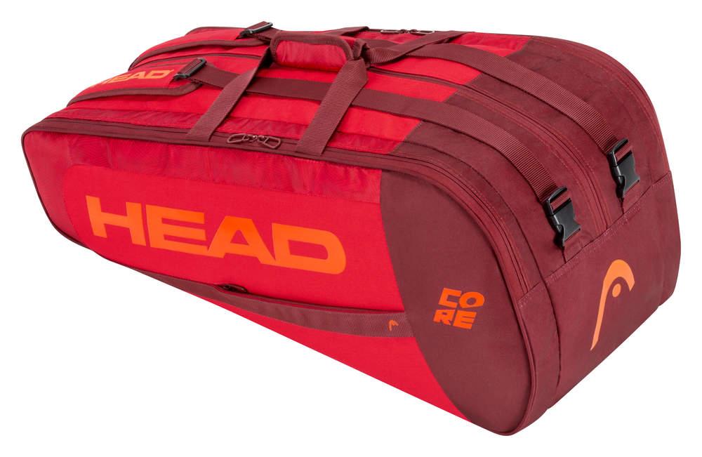 Head Core 9R Supercombi Red/Red 2021