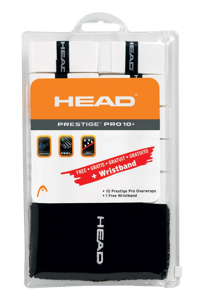 HEAD Prestige Pro 10+ Pack + Wristband 5