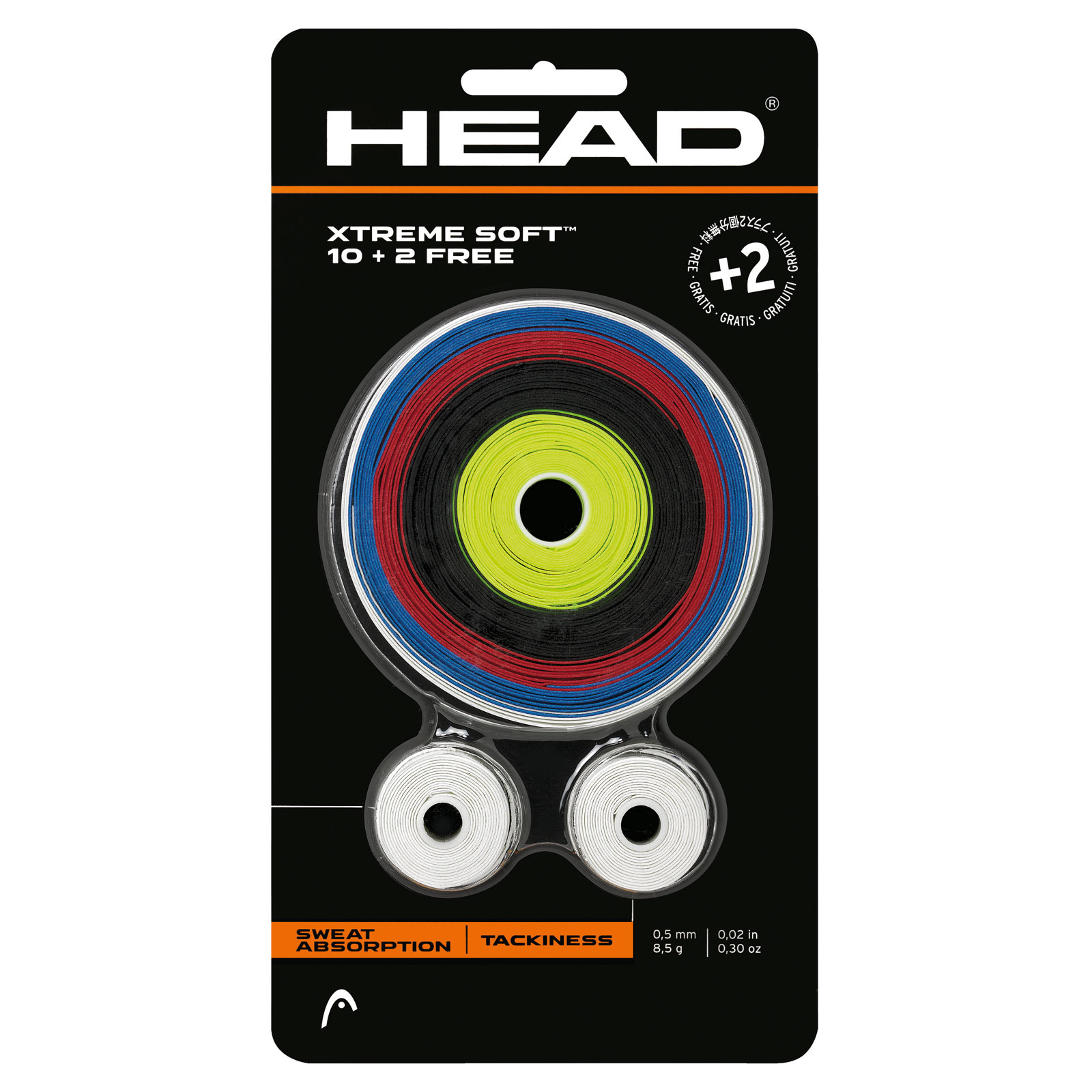 HEAD XtremeSoft 10+2 Assorted