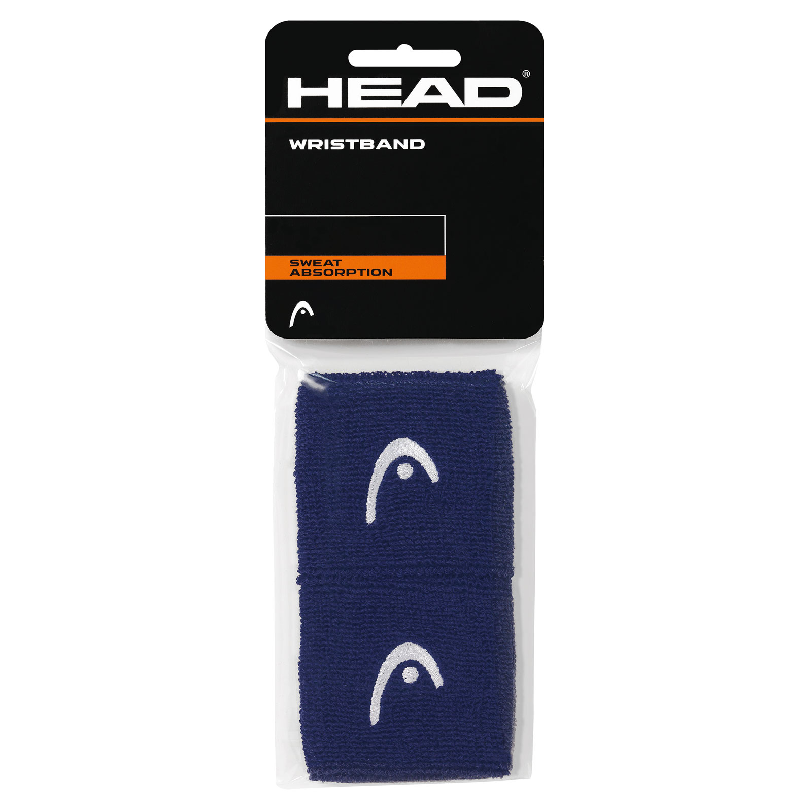 "HEAD Wristband 2,5"" 2016 navy"