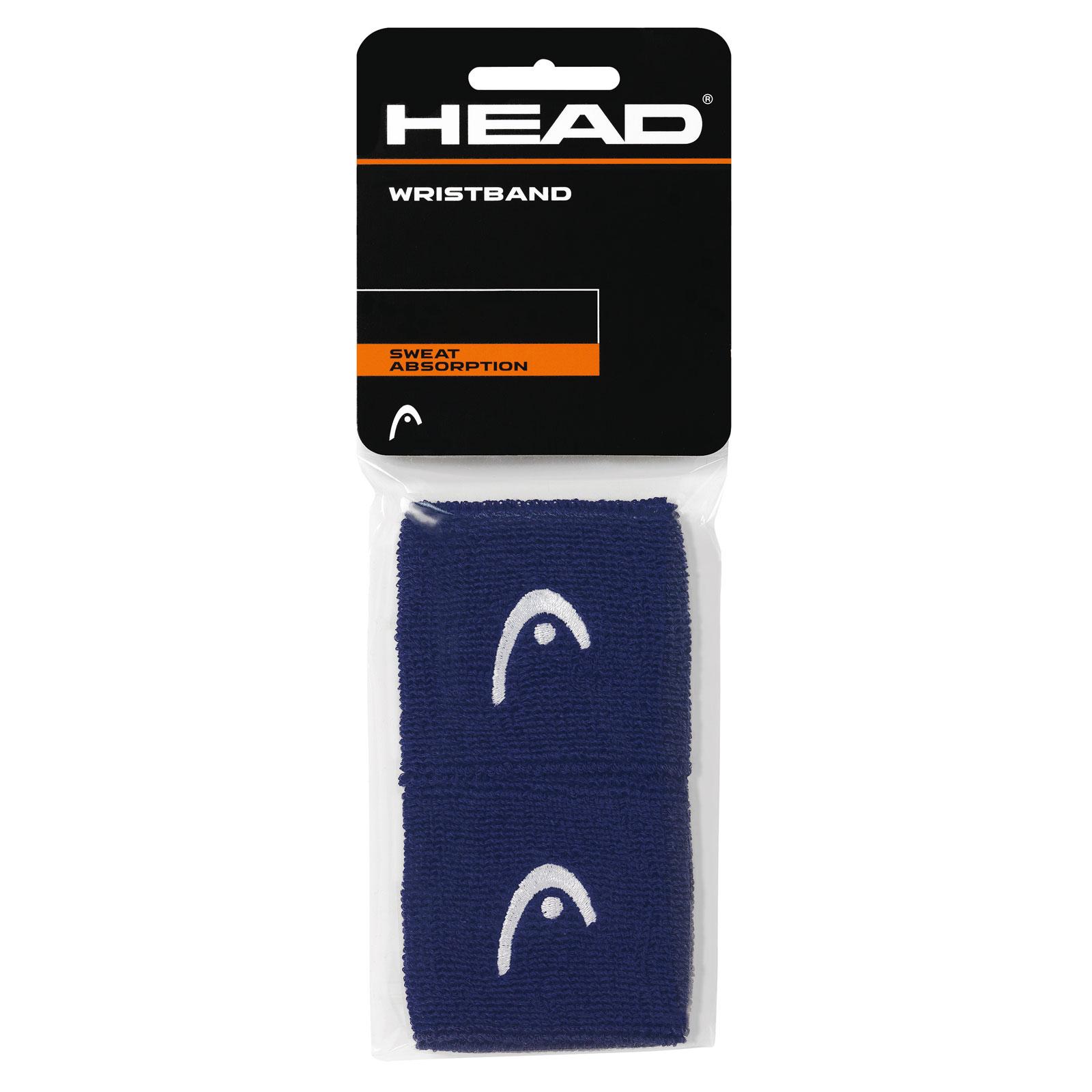 "HEAD Wristband 2,5"" 2016 navy"