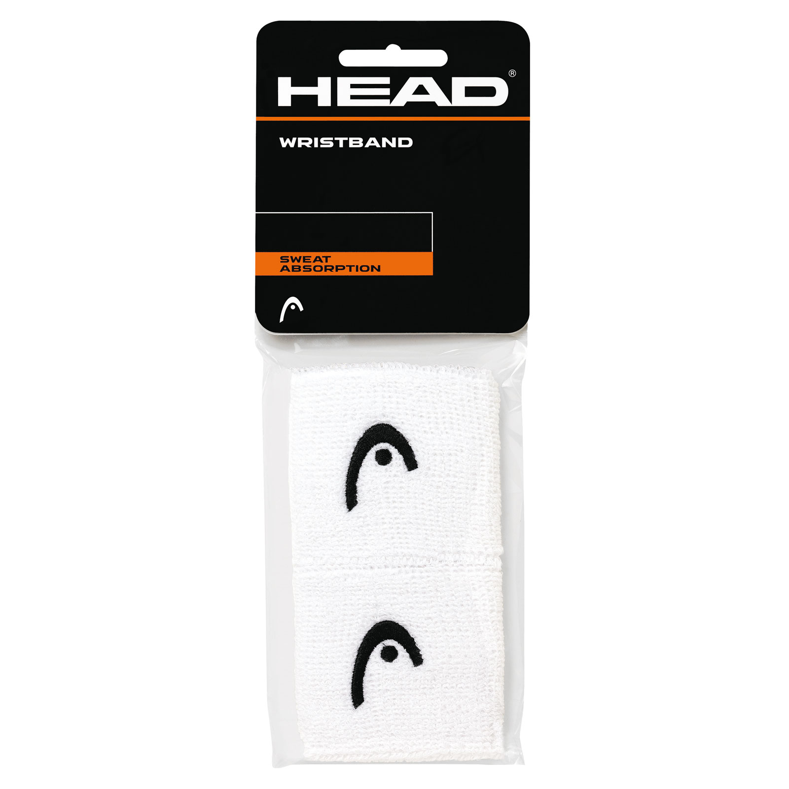 "HEAD Wristband 2,5"" 2016 white"