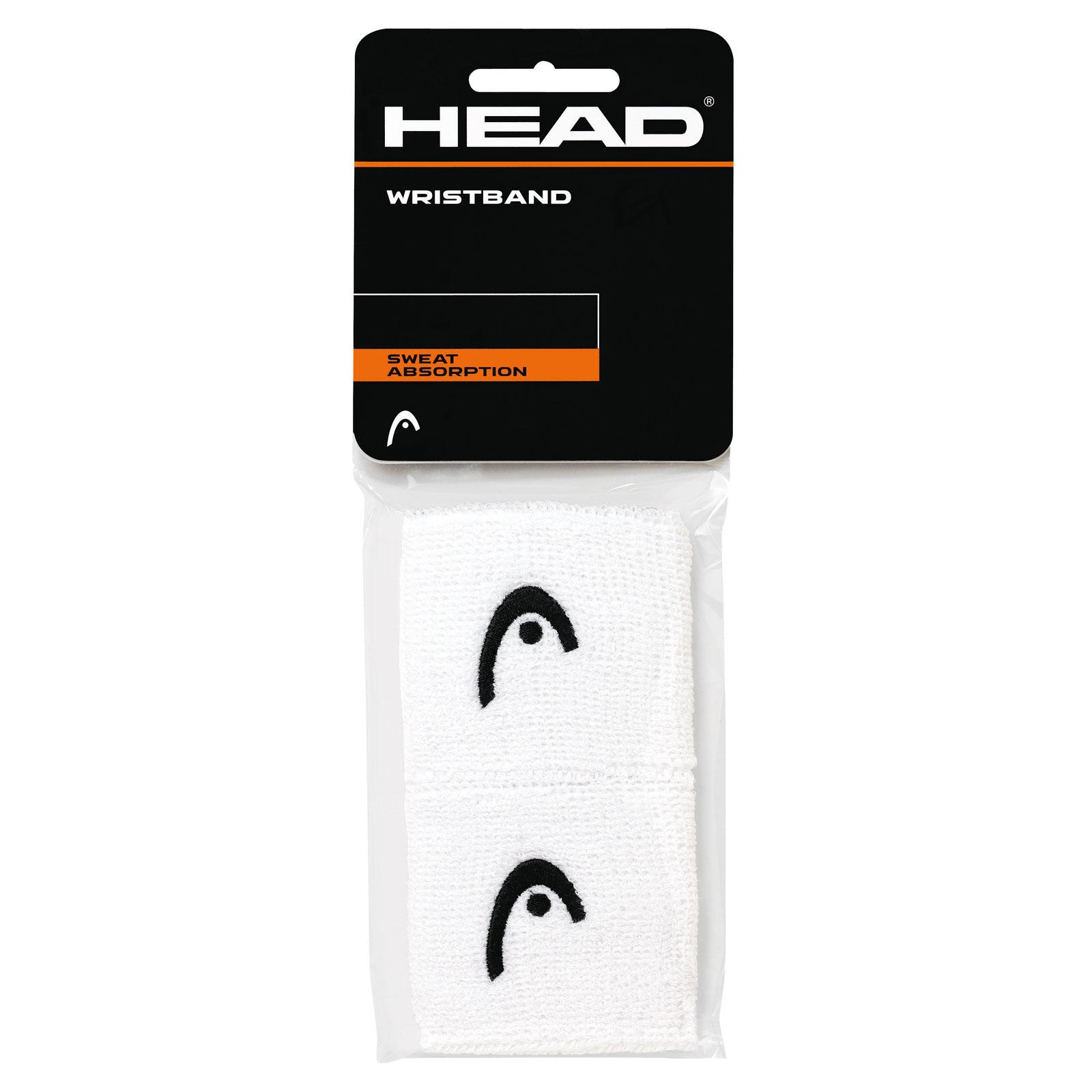"HEAD Wristband 2,5"" 2016 white"