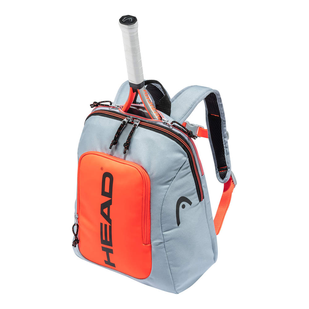 HEAD Kids Backpack Rebel Grey/Orange 2021