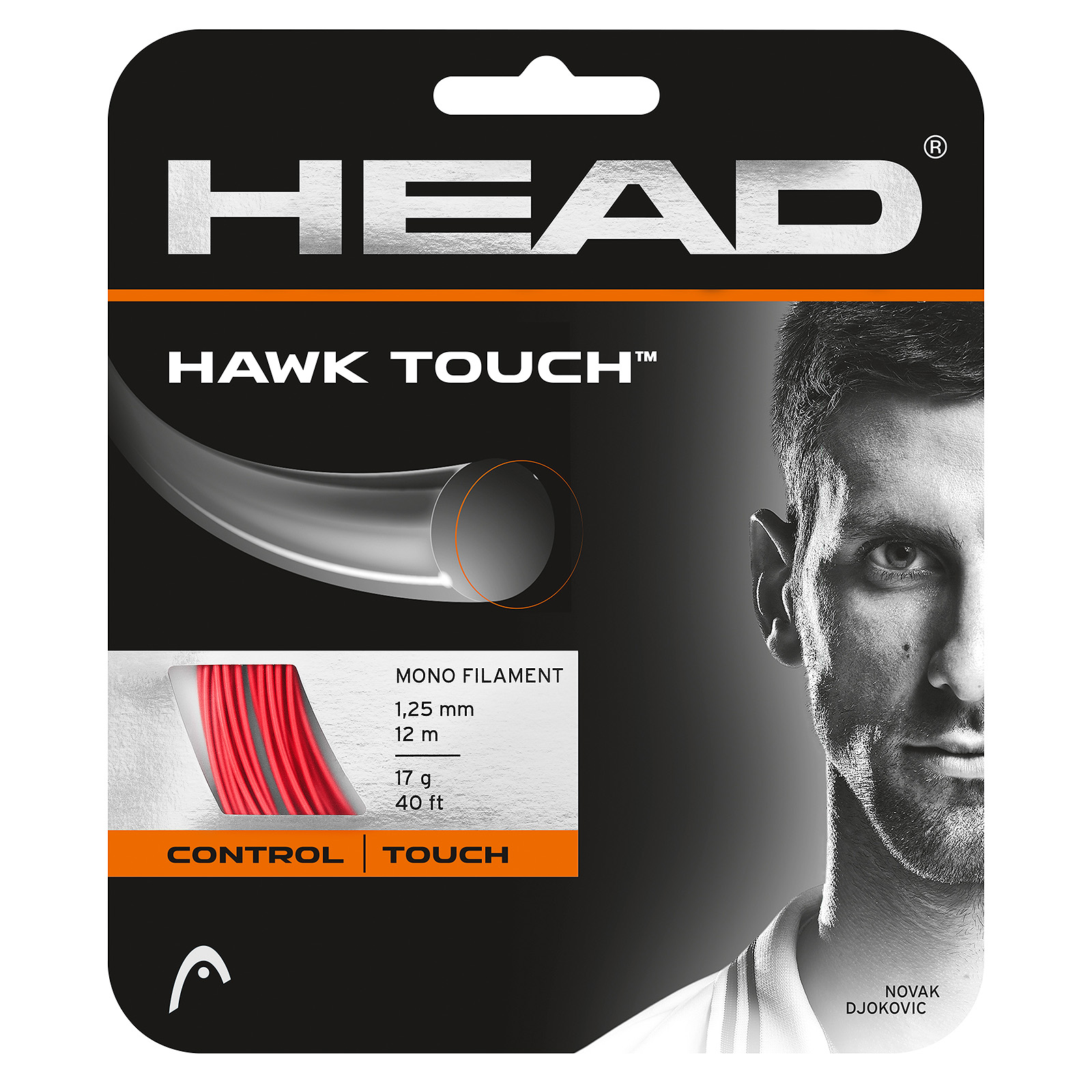 HEAD Hawk Touch 12m 1,25 Red
