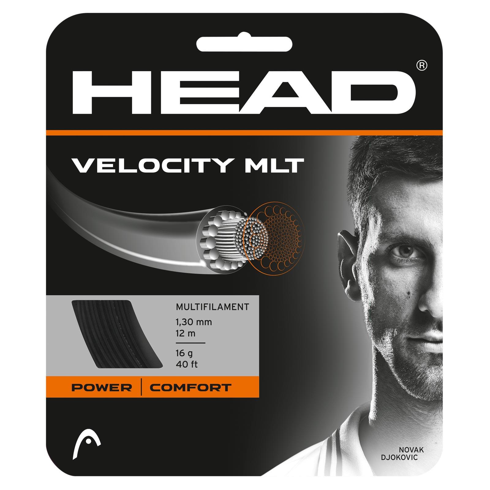 HEAD Velocity MLT 12m 1,25 Black