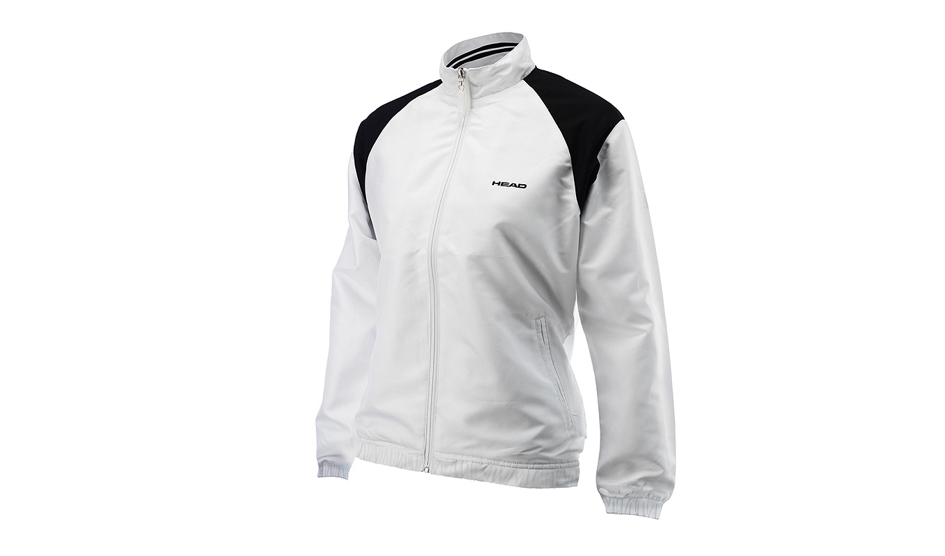 HEAD Cooper Jacket Woman White/Black XS