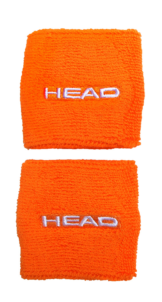 HEAD Wristband 2,5 Orange