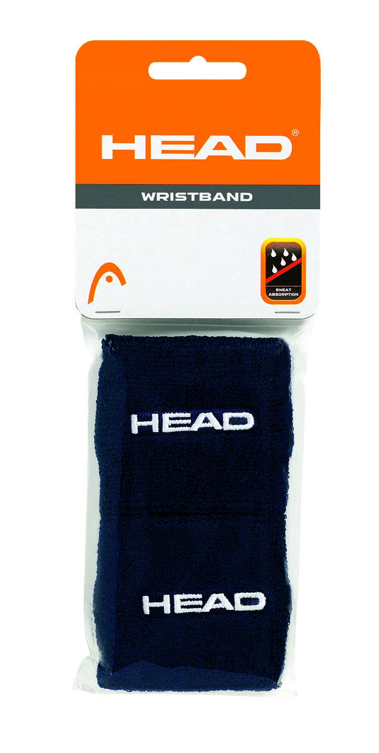 HEAD Wristband 2,5 Black