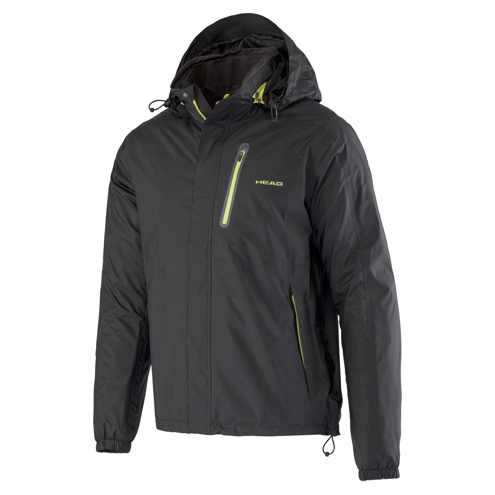 HEAD ALL SEASON COACH - RAIN JACKET Black L