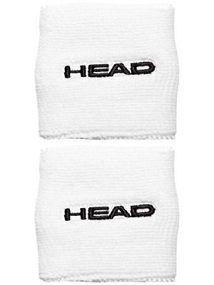 HEAD Wristband 2,5 White