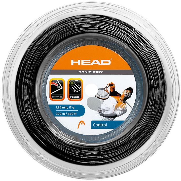 HEAD Sonic Pro 200m 1,25 Black