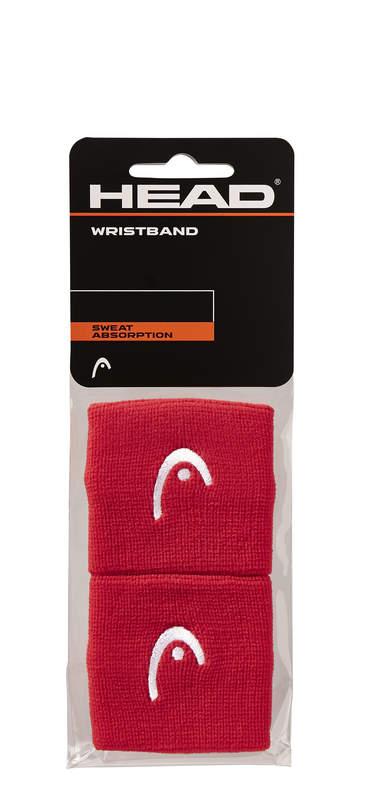 "HEAD Wristband 2,5"" red"