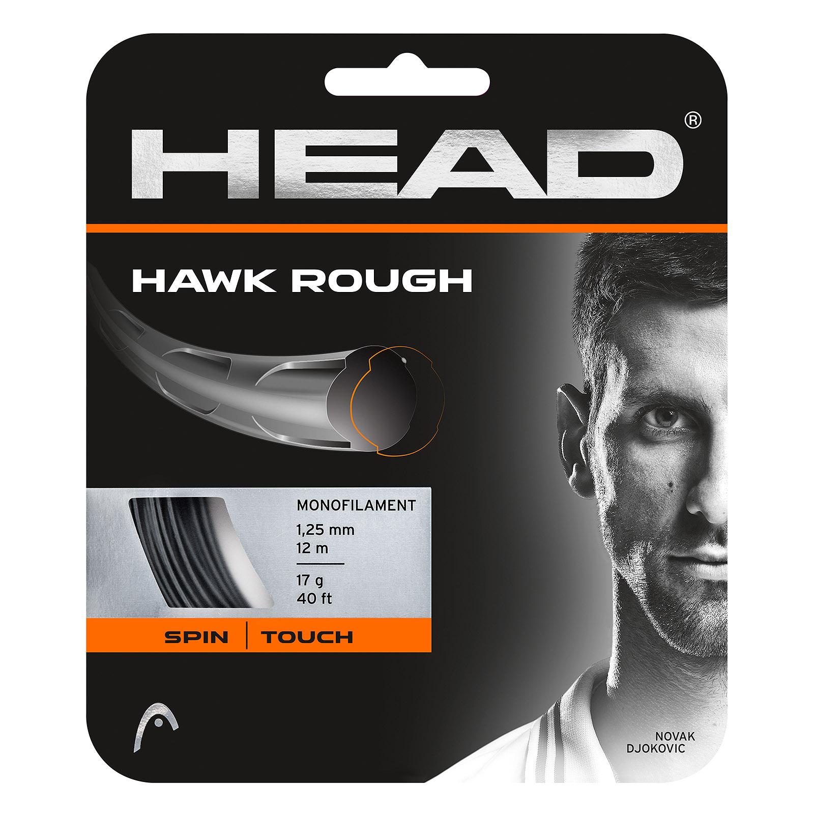 HEAD Hawk Rough 12m 1,25 Black