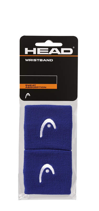 "HEAD Wristband 2,5"" blue"