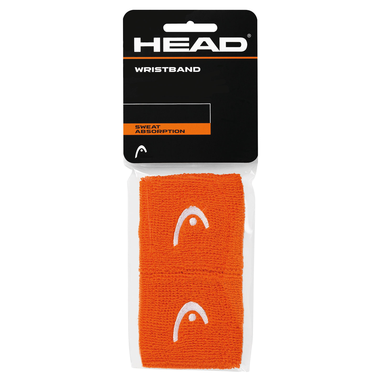"HEAD Wristband 2,5"" 2016 Orange"