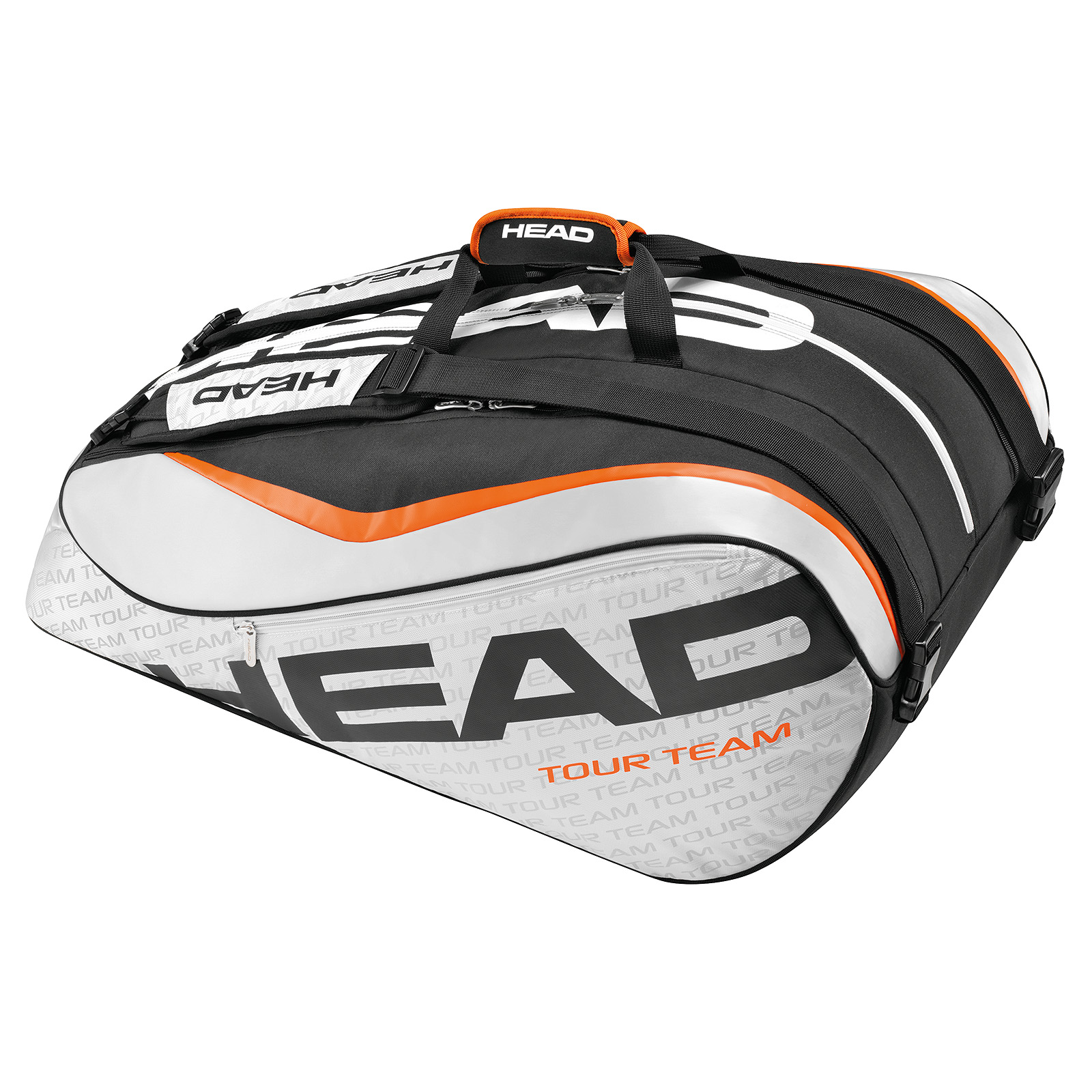 HEAD Tour Team 12R Monstercombi Black/Silver