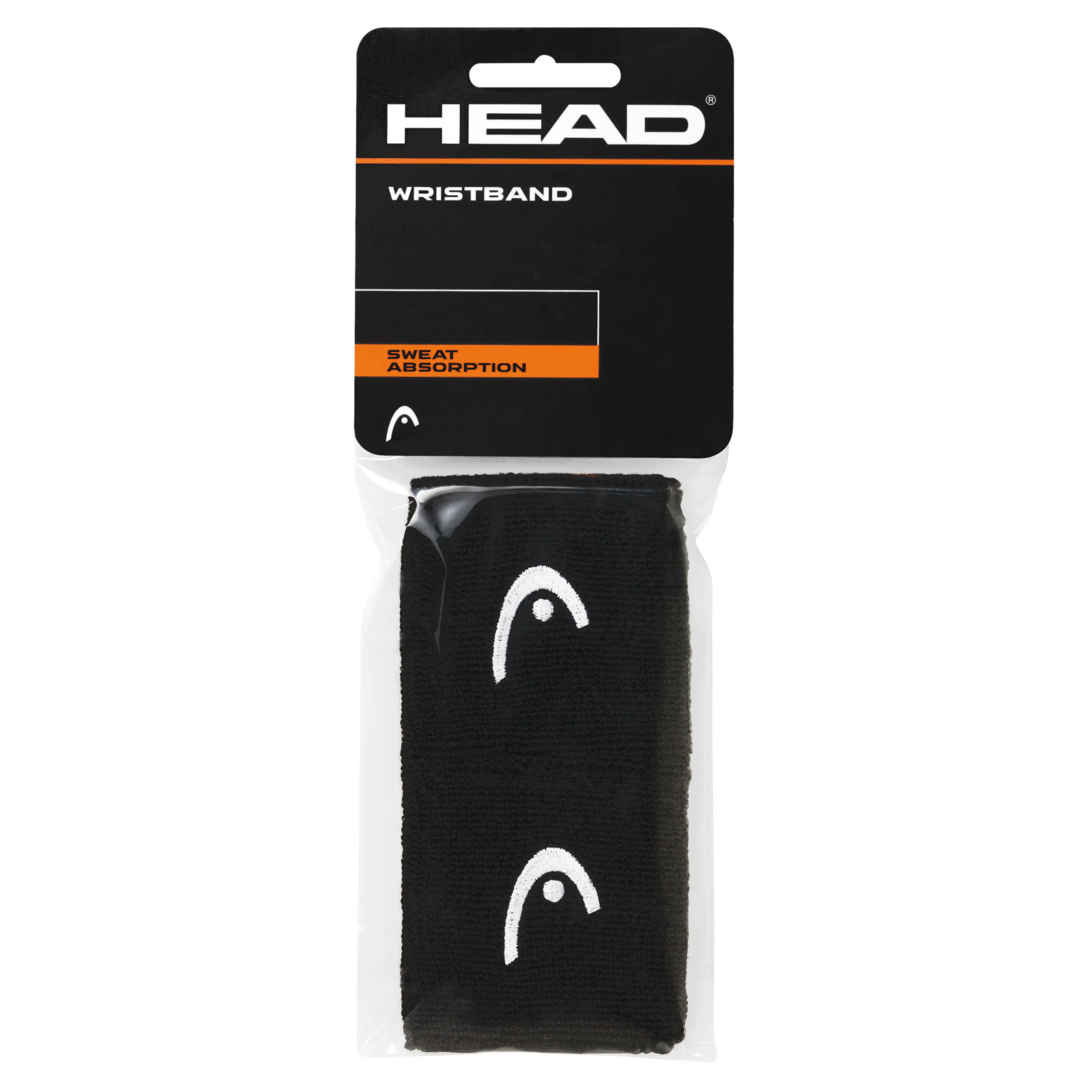 "HEAD Wristband 2,5"" 2016 black"