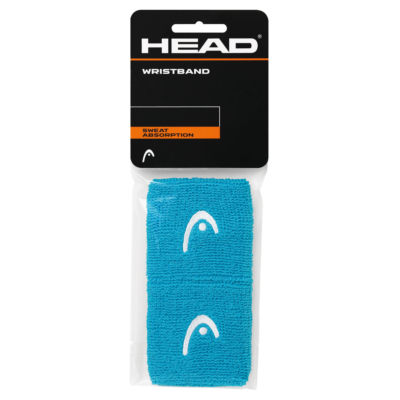 "HEAD Wristband 2,5"" 2016 turquoise"