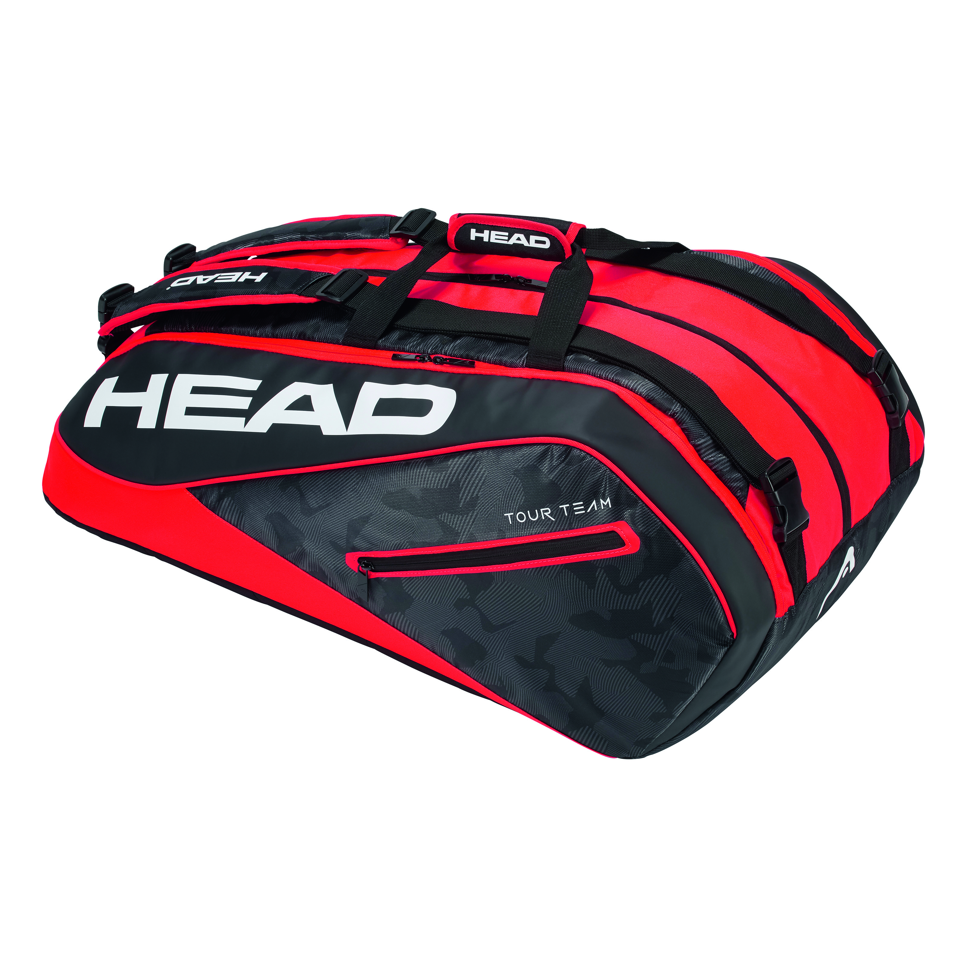 HEAD Tour Team 12R Monstercombi Black/Red 2018