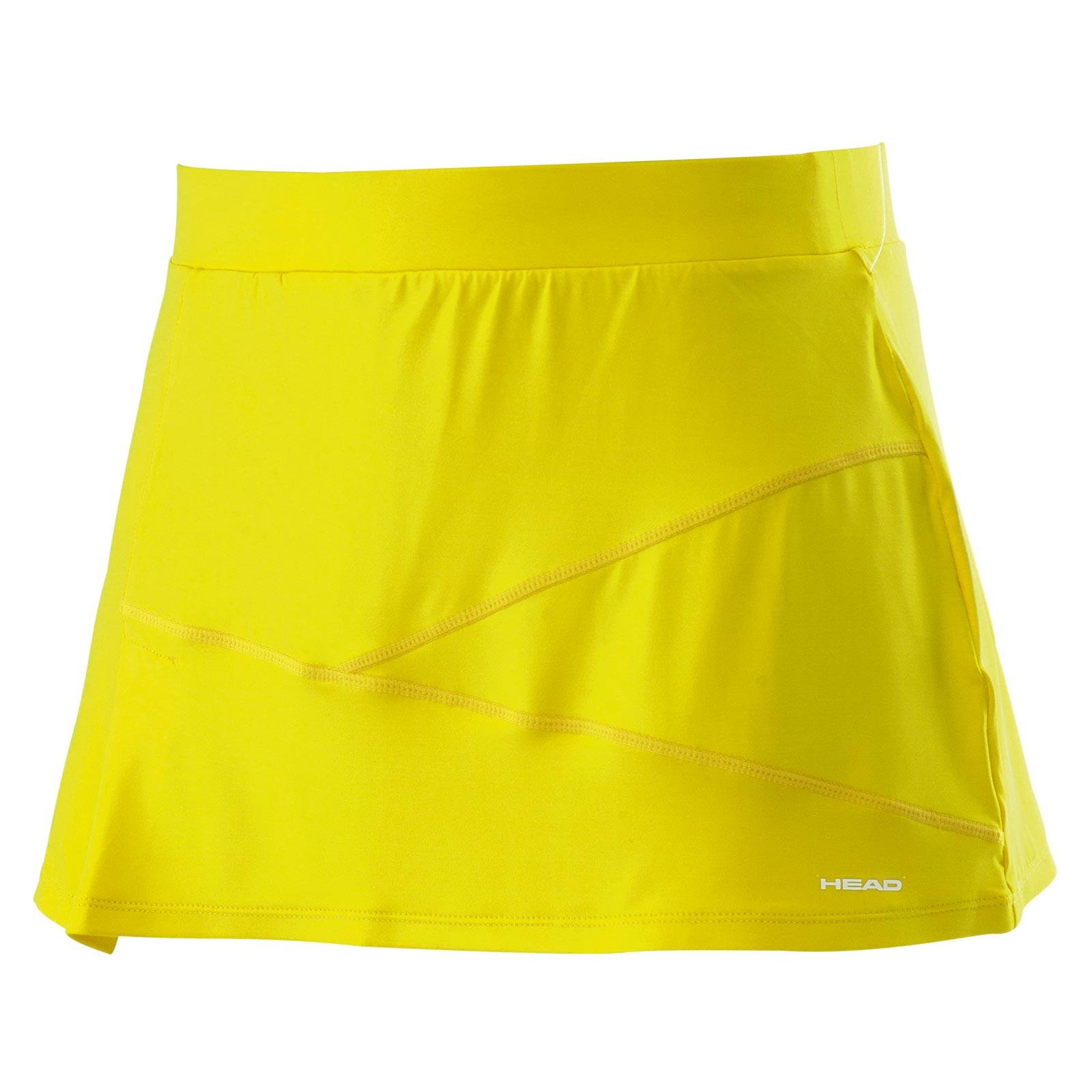 HEAD ADA Skort Yellow L