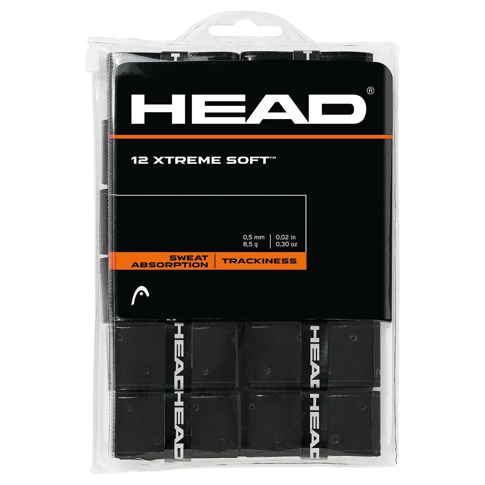 HEAD XtremeSoft 12x Black