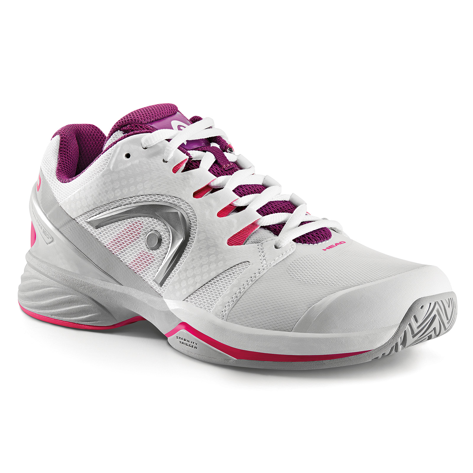 HEAD Nitro Pro Women All Court White/Purple 2017 36,5