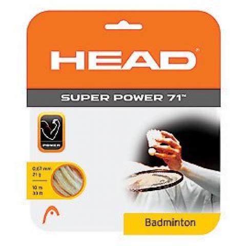 HEAD Super Power 10m 0,71 White