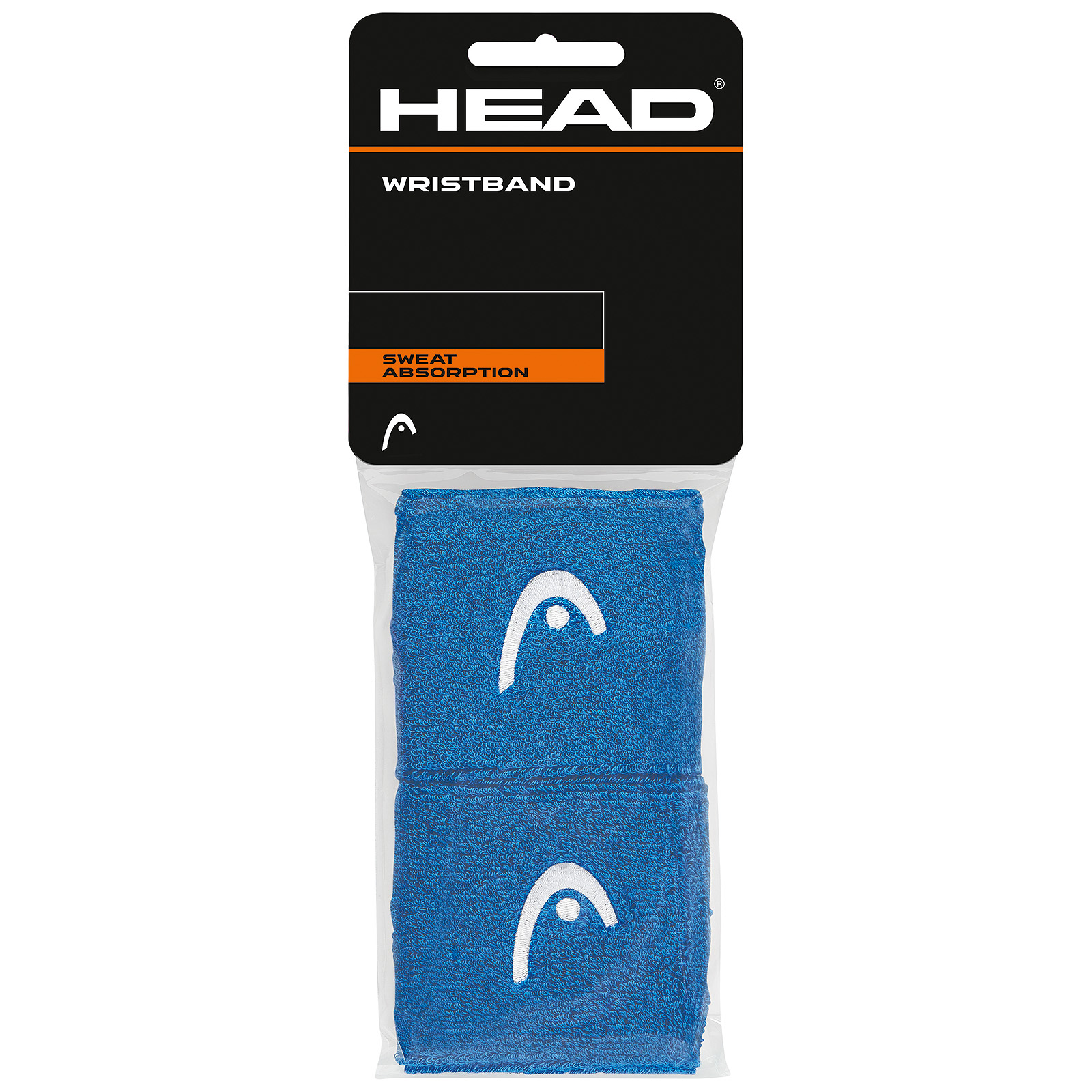 "HEAD Wristband 2,5"" 2016 blue"