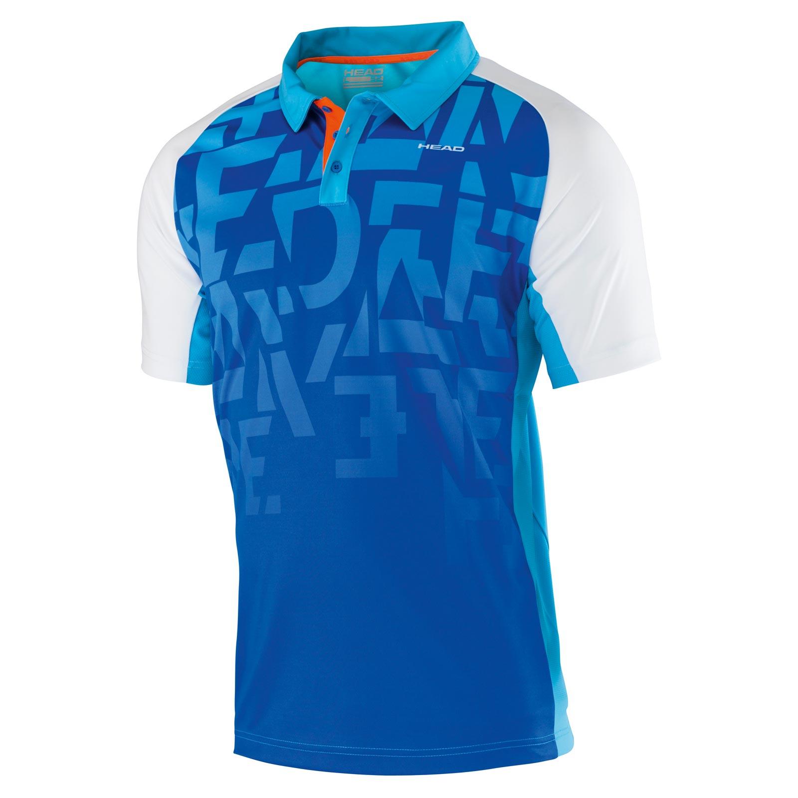 Head Ari Polo Shirt Button Blue Head Store