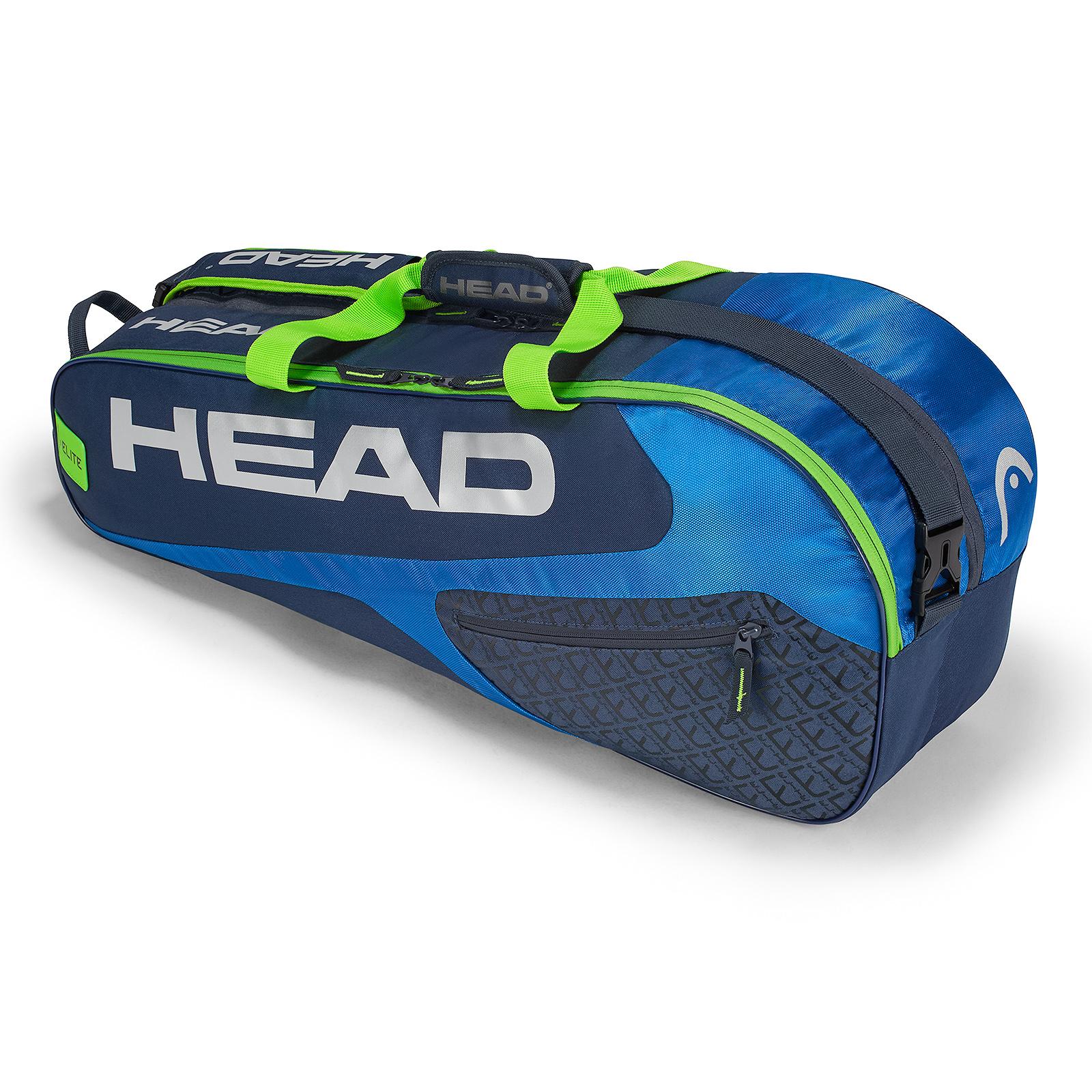 HEAD Elite 6R Combi Blue 2018