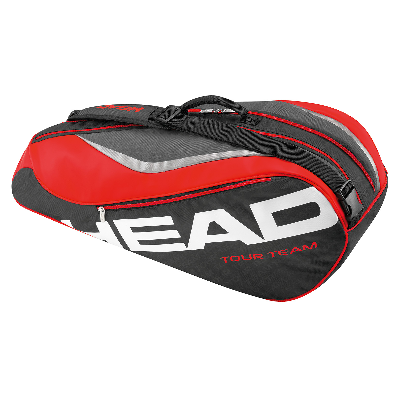 HEAD Tour Team Combi 6R black/red