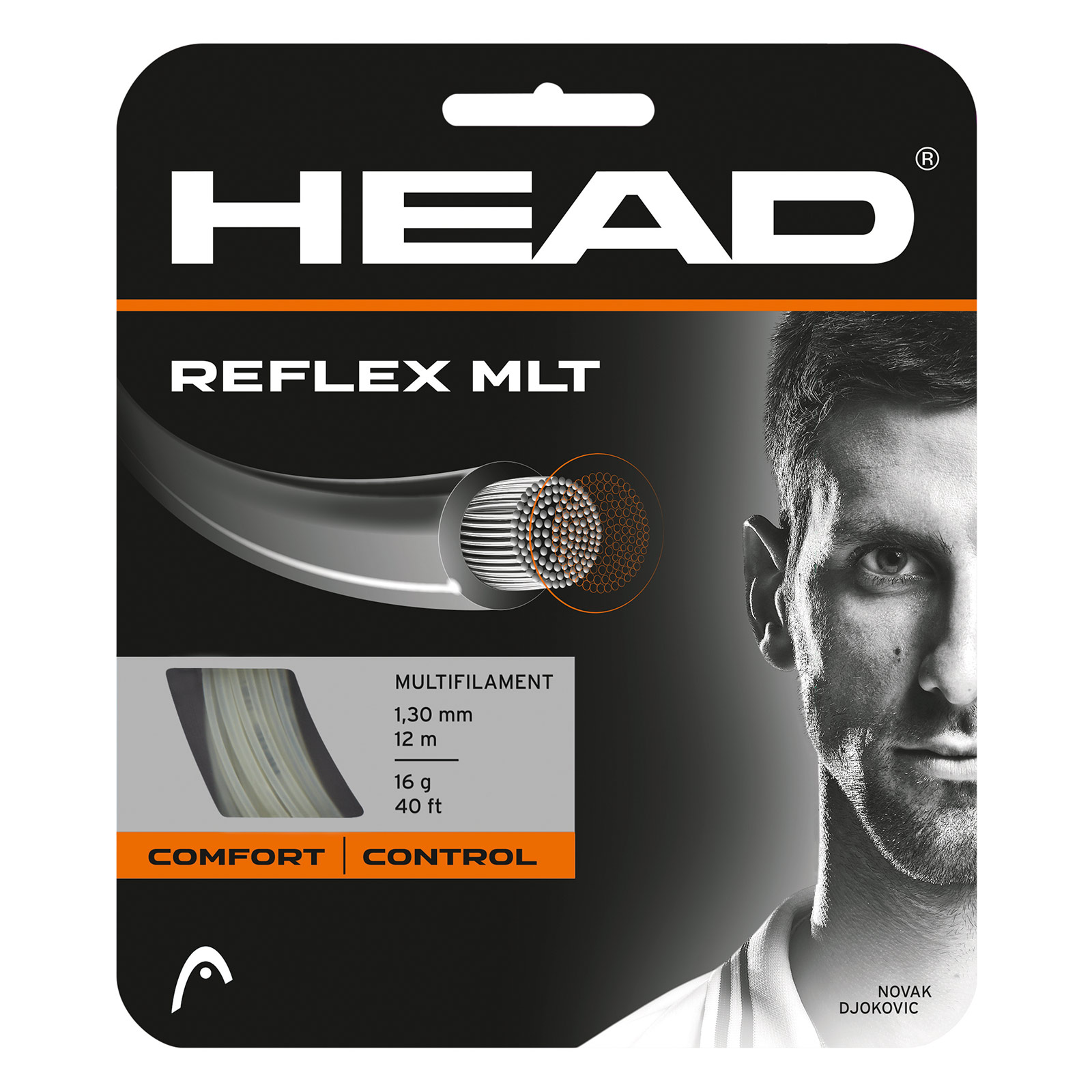 HEAD Reflex MLT 12m 1,25 Natural
