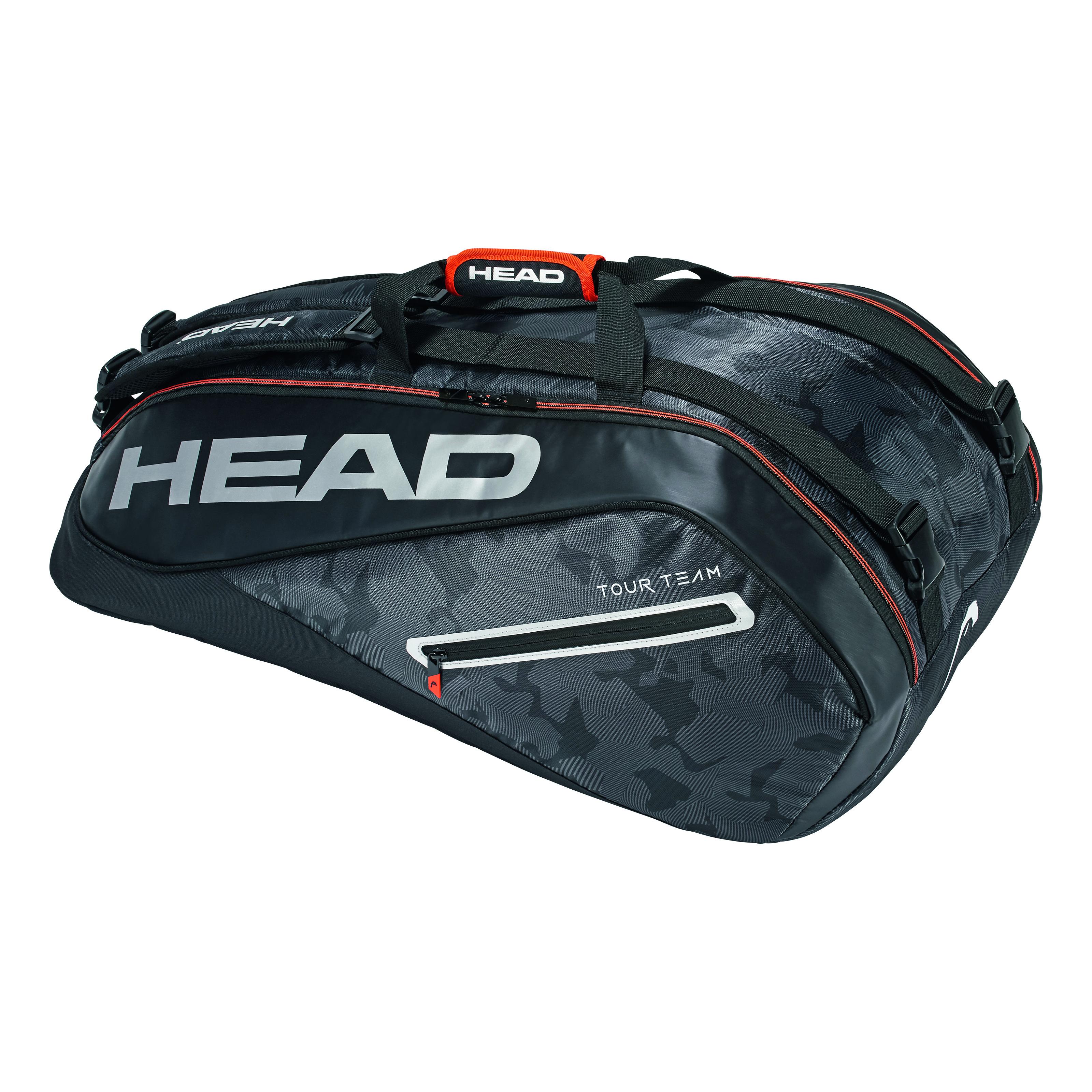 HEAD Tour Team 9R Supercombi Black/Silver 2018