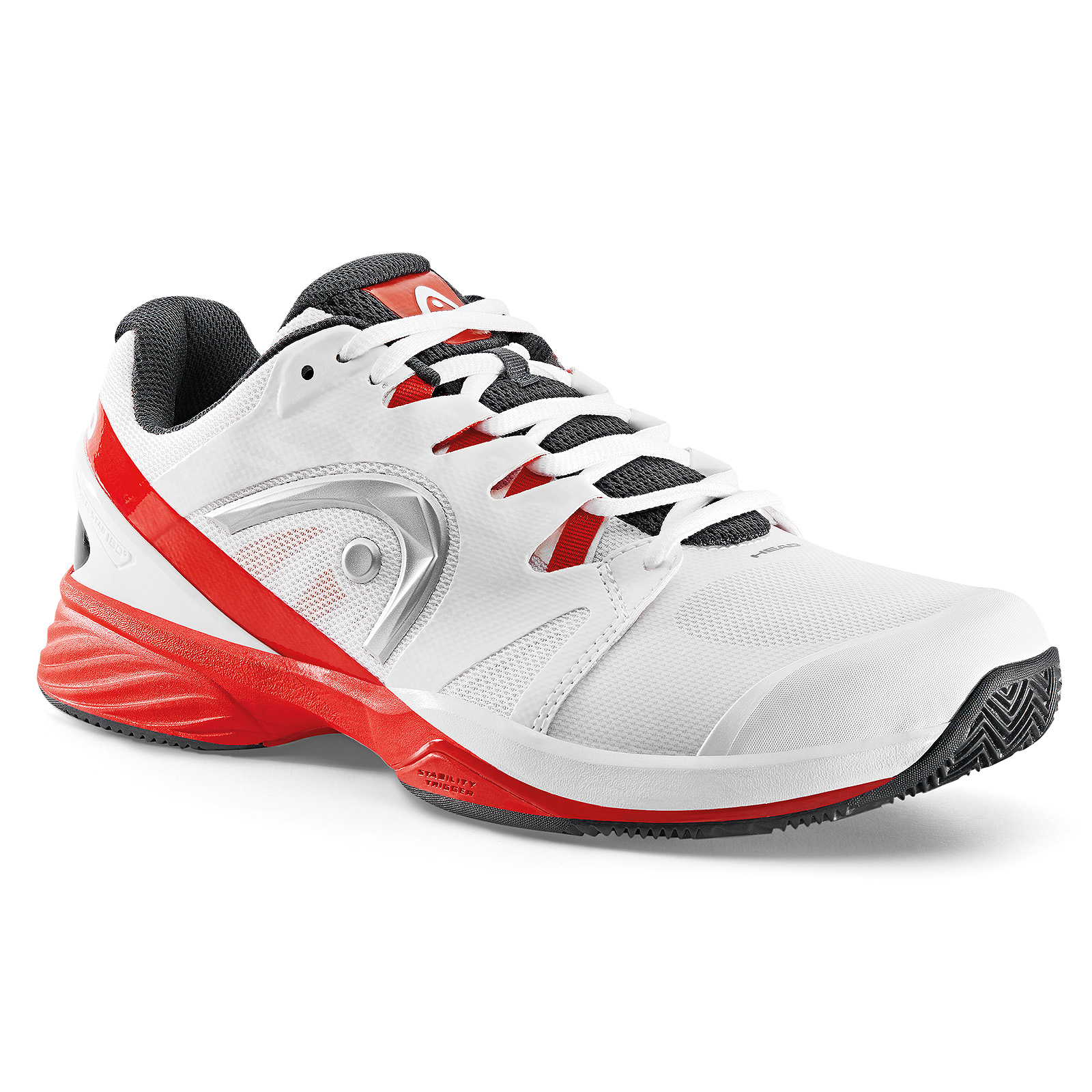HEAD Nitro Pro Men Clay White/Red 2017 40